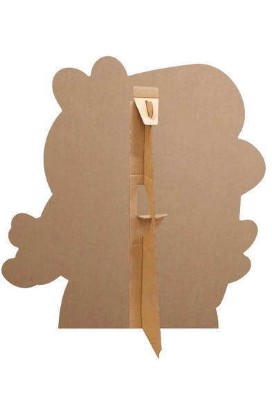 Rear of George Pig Valentine's Rose Cardboard Cutout