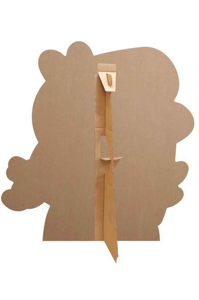 Rear of George Pig Valentine's Rose Cardboard Cutout