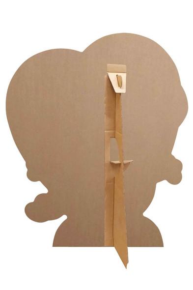 Rear of George Pig Valentine's Heart Cardboard Cutout