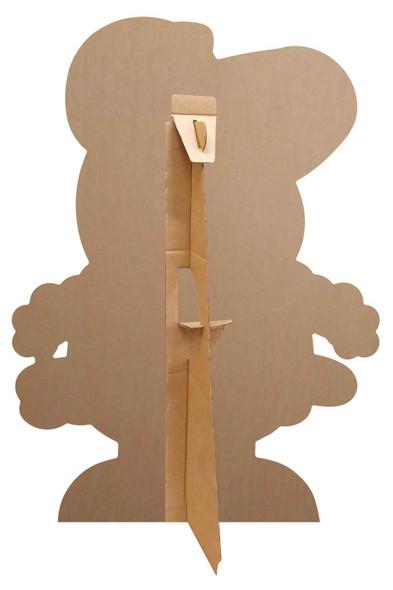 Rear of Peppa Pig Easter Chicken Cardboard Cutout