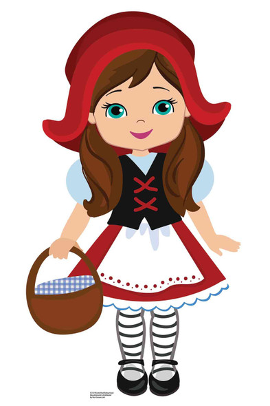 Little Red Riding Hood Fairy Tales Cardboard Cutout / Standee