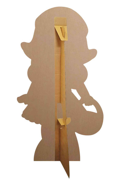 Rear of Little Red Riding Hood Fairy Tales Cardboard Cutout