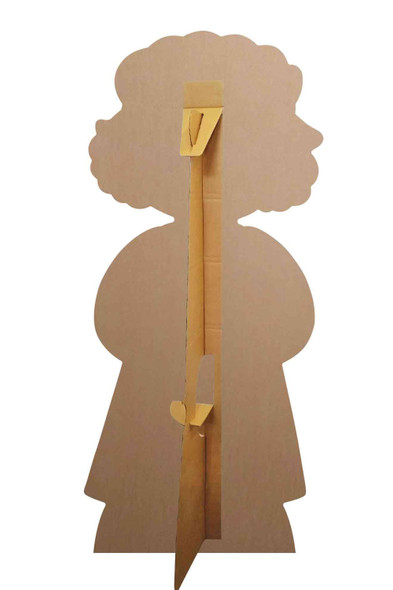 Rear of Grandma from Little Red Riding Hood Fairy Tales Cardboard Cutout