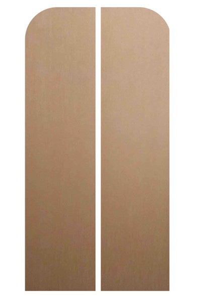 Rear of Magical Fantasy Double Doors Cardboard Decor