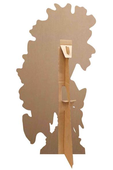 Rear of Barb Official Trolls World Tour Mini Cardboard Cutout