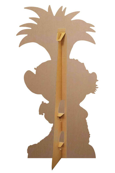 Rear of Princess Poppy with Ukulele Official Trolls World Tour Cardboard Cutout
