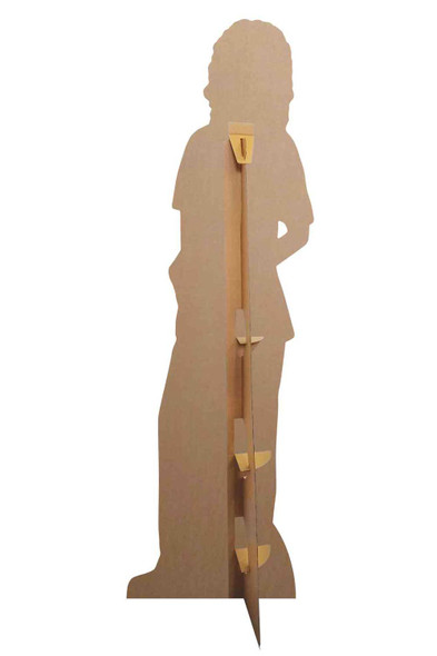 Rear of Doctor Nurse Health Worker Lifesize Cardboard Cutout