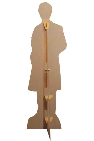 Rear of Doctor Nurse Health Worker Male Lifesize Cardboard Cutout
