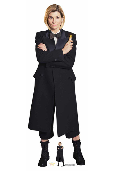The 13th Doctor Who Jodie Whittaker Spyfall Suit Official Cardboard Cutout