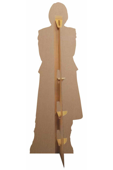 Rear of The 13th Doctor Who Jodie Whittaker Spyfall Suit Official Cardboard Cutout