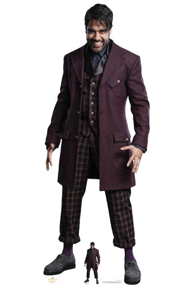 The Master Sacha Dhawan from The 13th Doctor Who Official Cardboard Cutout