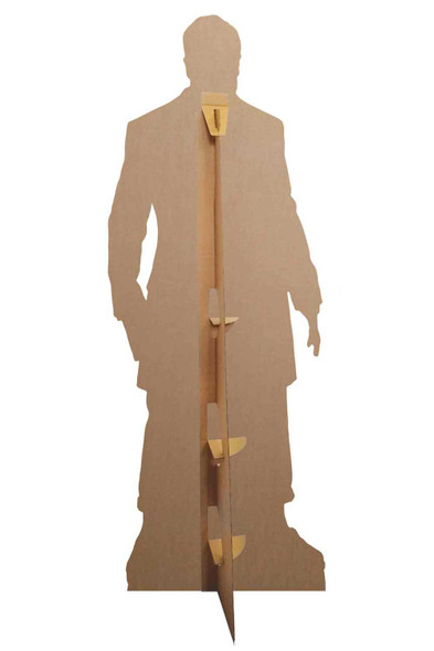 Rear of The Master Sacha Dhawan from The 13th Doctor Who Official Cardboard Cutout