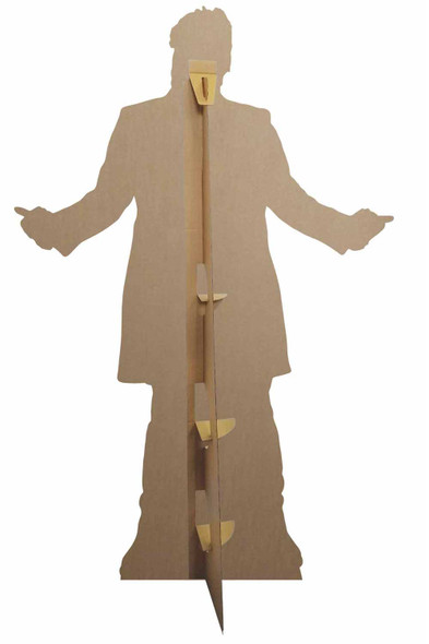 Rear of The Fugitive Doctor Jo Martin Doctor Who Official Cardboard Cutout