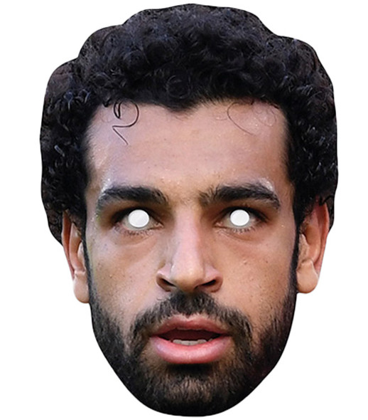 Mohamed Salah Celebrity Single 2D Card Party Face Mask