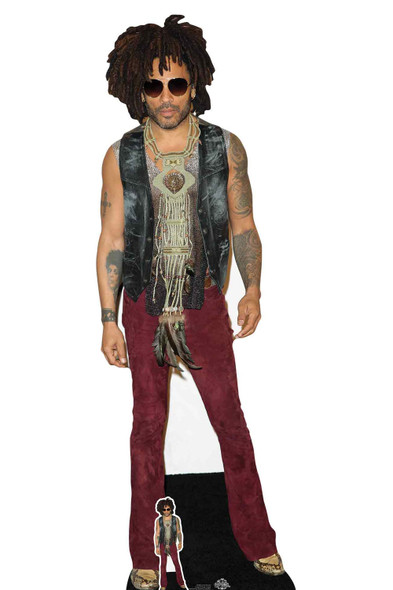 Lenny Kravitz Red Jeans Lifesize Cardboard Cutout / Standee / Stand up