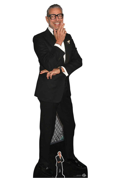 Jeff Goldblum Black Suit Lifesize Cardboard Cutout / Standee