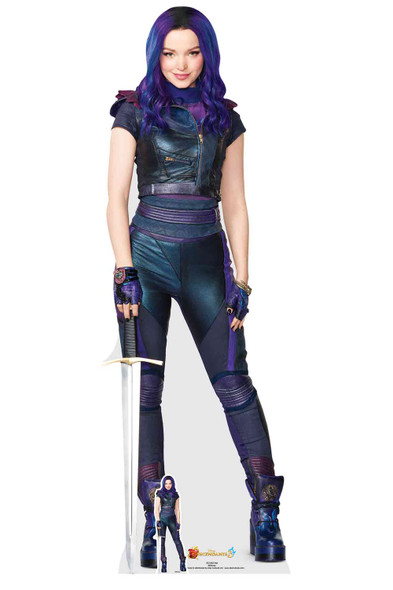 Mal from Descendants 3 Official Lifesize Cardboard Cutout