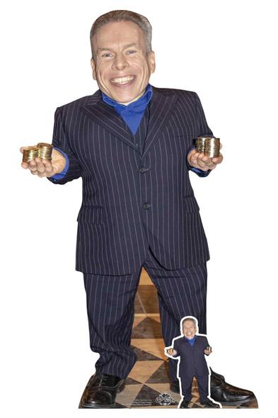 Warwick Davis Celebrity Lifesize Cardboard Cutout / Standee
