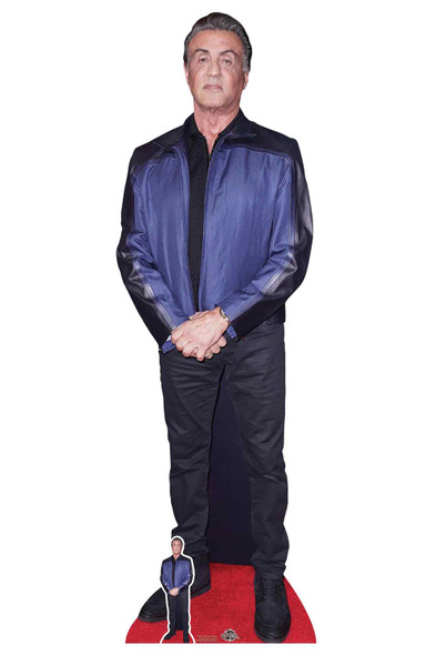Sylvester Stallone Lifesize Cardboard Cutout / Standee / Standup