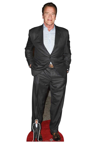 Arnold Schwarzenegger Celebrity Lifesize Cardboard Cutout / Standee
