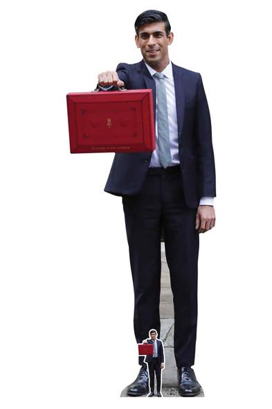 Rishi Sunak Politician Lifesize Cardboard Cutout