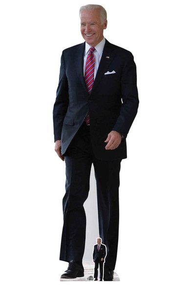 Joe Biden American Politician Lifesize Cardboard Cutout
