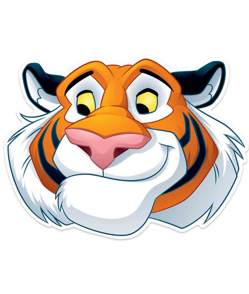 Rajah Tiger Official Disney Aladdin Child Size 2D Card Party Mask