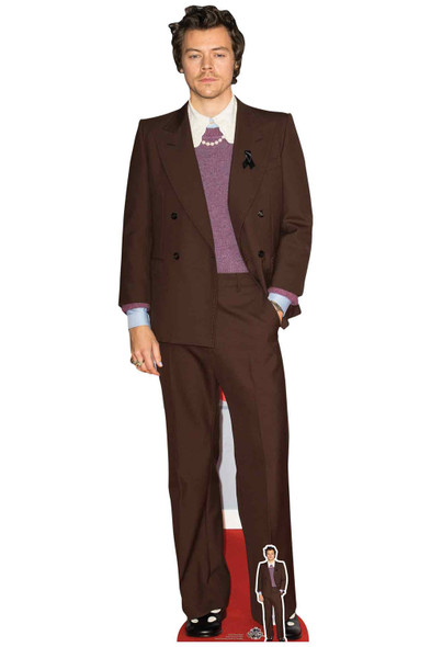 Harry Styles Mauve Jacket Lifesize Cardboard Cutout