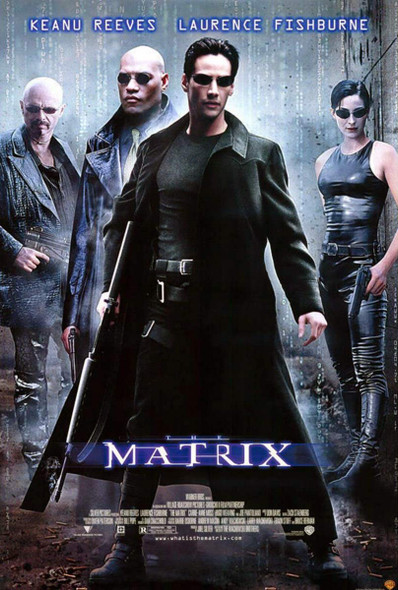 The Matrix Original Home Video Poster