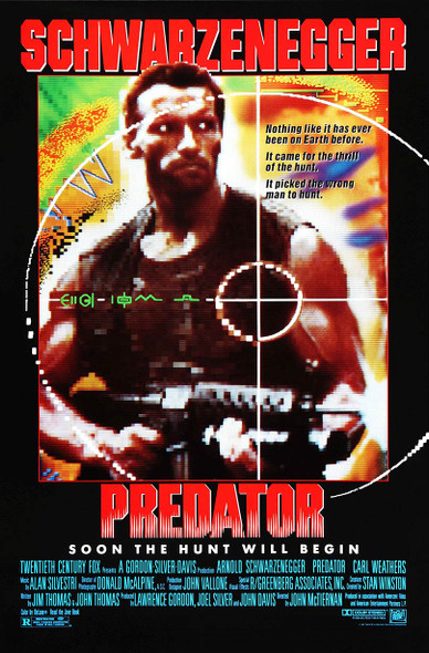 Predator (1987) Original Movie Poster