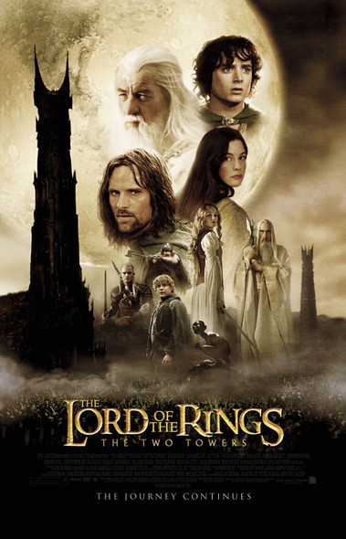 The Lord Of The Rings: The Two Towers Original Movie Poster - Final Style