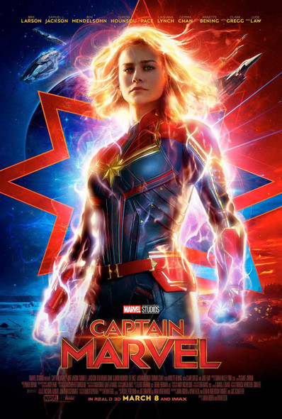 Captain Marvel Original Movie Poster Final Style