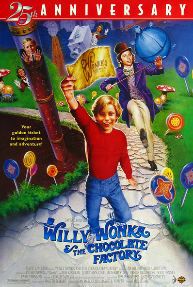 Willy Wonka and The Chocolate Factory Original Movie Poster