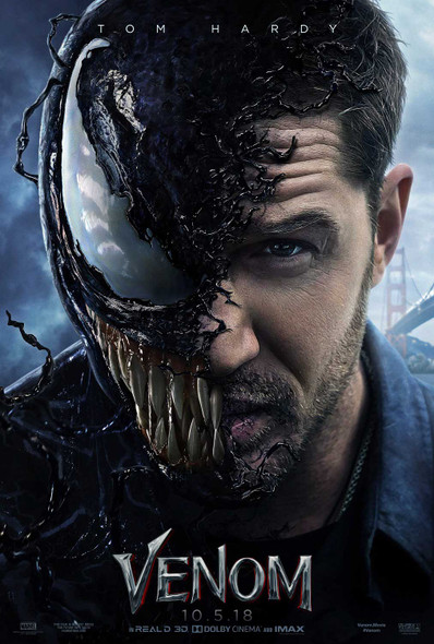 Venom Original Movie Poster Advance Style