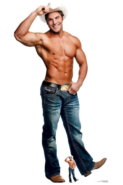 Cowboy Chippendale Official Lifesize Cardboard Cutout