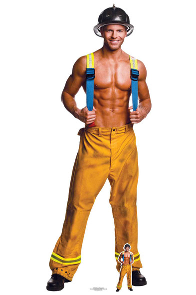 Fireman Chippendale Official Lifesize Cardboard Cutout