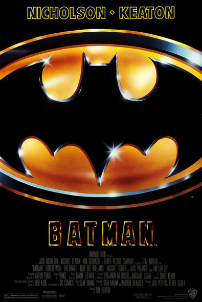 Batman (1989) Original Movie Poster UV Coated / High Gloss Final Style
