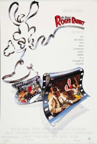 Who Framed Roger Rabbit Original Movie Poster Final Style