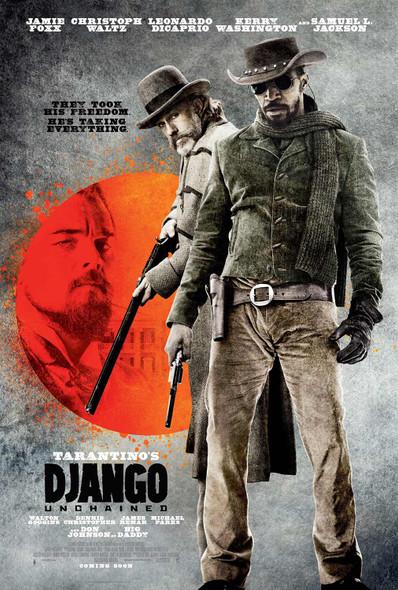 Django Unchained Original Movie Poster International Style