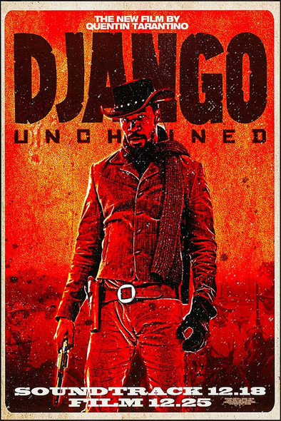 Django Unchained Original Movie Poster Rare Wilding Style