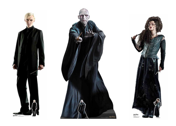 Harry Potter Villains Official Lifesize Cardboard Cutout Pack of 3