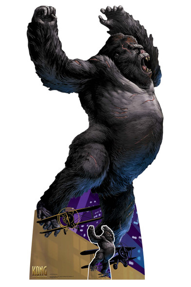 King Kong Official Large Cardboard Cutout / Standee / Standup