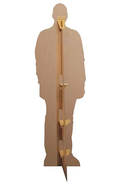Rear of Ncuti Gatwa Celebrity Lifesize Cardboard Cutout