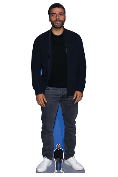 Oscar Isaac Actor Lifesize Cardboard Cutout / Standee