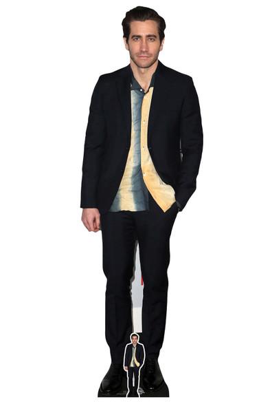Jake Gyllenhaal Yellow and Blue Shirt Style Lifesize Cardboard Cutout / Standee