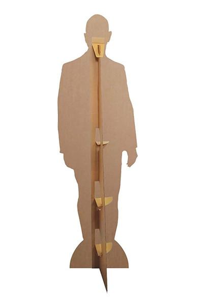 Rear of Jeff Bezos Celebrity Lifesize Cardboard Cutout
