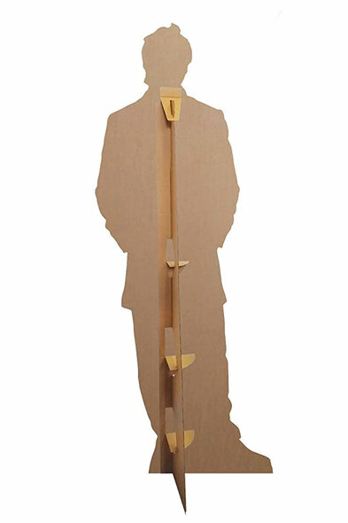 Rear of Tom Felton Smart Style Lifesize Cardboard Cutout