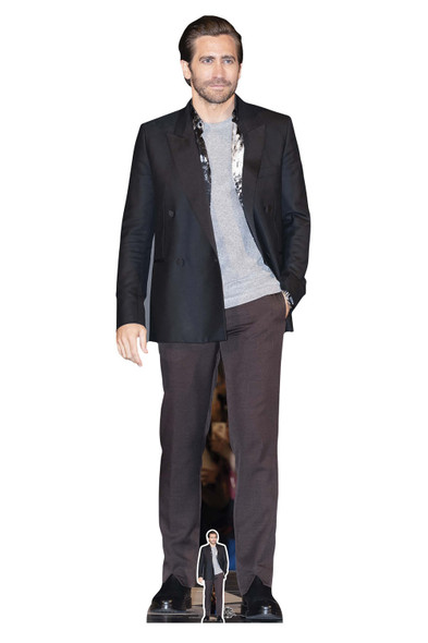 Jake Gyllenhaal Grey Outfit Lifesize Cardboard Cutout / Standee