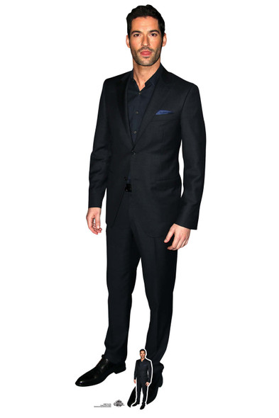 Tom Ellis Black Suit Lifesize Cardboard Cutout / Standee / Standup