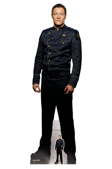 Helo from Battlestar Galactica Official Lifesize Cardboard Cutout